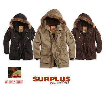 supreme winterparka fellkragen herren mantel parka jacke. Black Bedroom Furniture Sets. Home Design Ideas