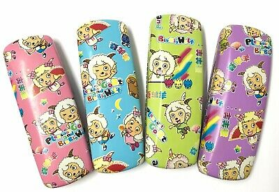 C5A Kids Glasses Hard Cases/Chinese Cartoon Sheep Pattern/Faux Leather Cover ^^^