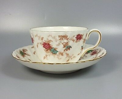 Minton Ancestral S376 Tea Cup And Saucer (Perfect)