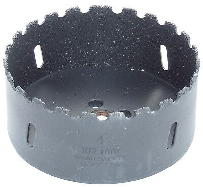 "4"" inch Tungsten Grit 4in Hole Saw Tile Concrete Marble Brick Drywall Slate Wood"
