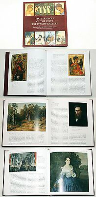 MASTERPIECES OF THE STATE TRETYAKOV GALLERY - art album in English, Moscow 2007