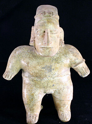 Superb Terra Cotta Jalisco Protoclassic Figure