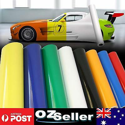 Vinyl Film Wrap Vinyl Roll Car Auto Hood Door Sheet Overlay Adhesive Sticker OZ