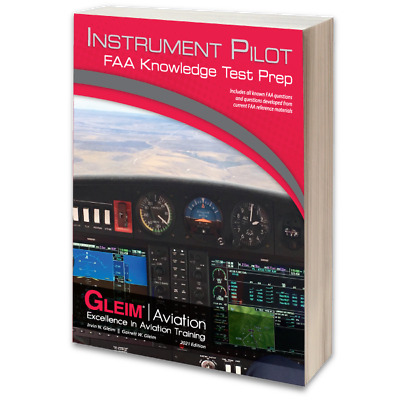 Gleim Instrument Pilot FAA Knowledge Test - IFR Written Exam Guide - 2017