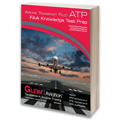 Gleim - 2018 Airline Transport Pilot (ATP) FAA Written Exam Guide