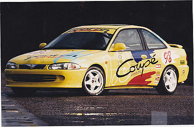 Proton Coupe Cup Racer Press Photo 1998  ##price Cut##  ***post Free Uk ***