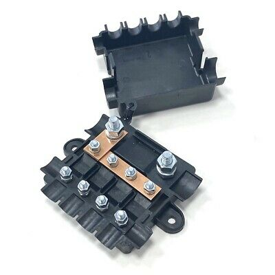 12V & 24V Power Distribution Box - Heavy Duty Mega/Midi Fuse Box - High Current
