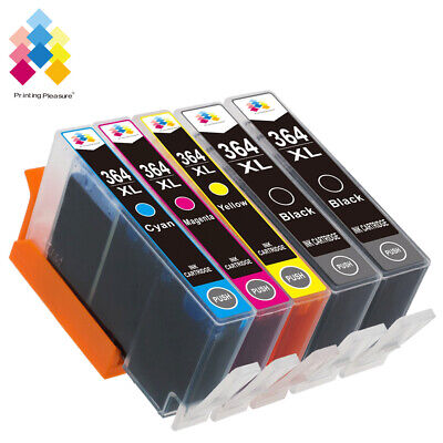 5 Generic Ink Cartridge 364XL for Photosmart 5520 5524 6510 6520 7510 PRINTER
