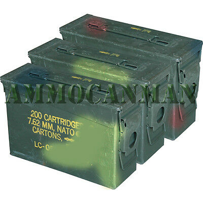 30 Cal Ammo Can-Grade 2 (3 Pack) FREE SHIPPING!!