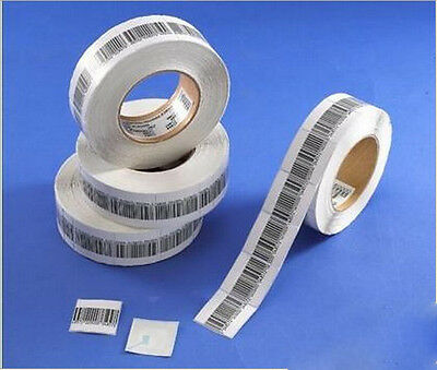 20000pcs EAS 8.2MHz Soft RF Paper Label Tag Checkpoint Compatible XTA-Y01
