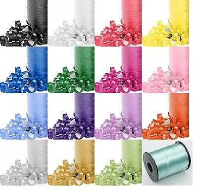 Precut  10 Metre Length 5mm Wide -Craft Curling Ribbon for Gifts / Balloons