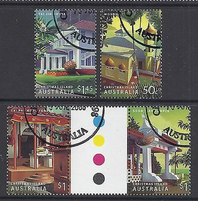 2006 Christmas Island Heritage Buildings  Fine Used Set Of 4 Cto