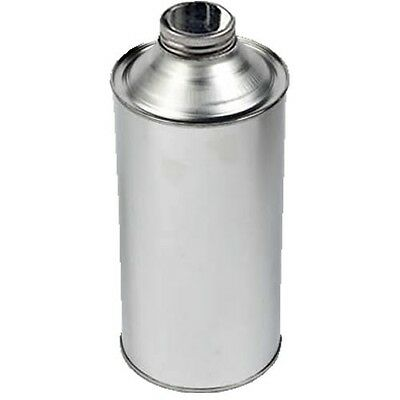 1 Litre 5pk Metal Cone Top Tin With 38mm Screw-Neck Metal Cap