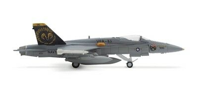 """VFA-83 McDonnell Douglas F/A-18C Hornet """"Rampagers"""" CAG-Bird 1:200 herpa 552523"""