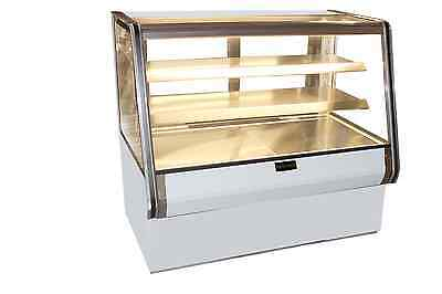 Cooltech Dry Counter Bakery Pastry Display Case 48""