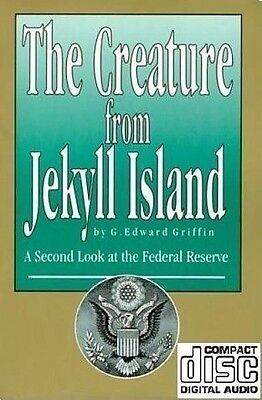 The Creature from Jekyll Island CD-ROM Edward Griffin Federal Reserve Illuminati