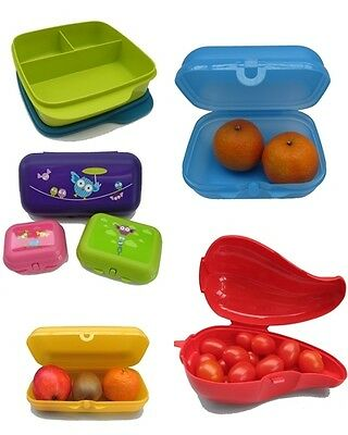 Tupperware Pausenbox Brot-Dose (1) Twin-Set-Dose Brotbox Twin-Box, Clevere Pause