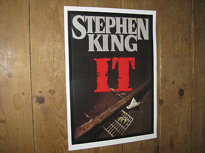 Stephen King IT Pennywise  Clown Repro POSTER
