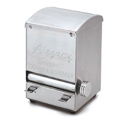 Toothpick Dispenser Stainless Steel Roll Style Alegacy ALTD5 NEW!