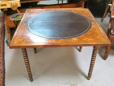 Antique French Louis Philippe Game Table