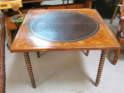 Antique Louis Philippe-Style Game Table