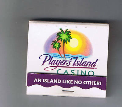 Players Island Casino Unused Matchbook Several Locations
