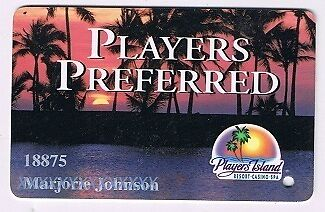 Players Island Resort Casino Spa Slot Machine Players Card Mesquite Nevada