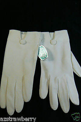 Vintage Ladies Flexibles by Van Raalte All nylon One Size Gloves USA new w tags