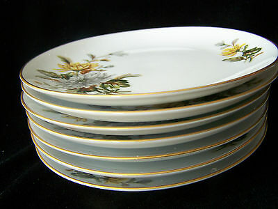 Eterna Fine China Of Japan Dinnerware Chrysanthmum Bread And Butter Plates