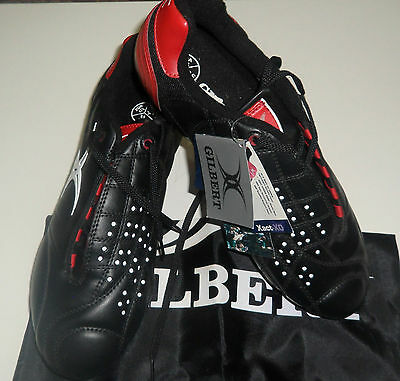 Gilbert Xact Pro 8S Rugby Boots - Lo Soft Toe Boot  Rrp $120