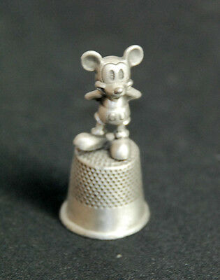 Collectible Pewter Disney Mickey Mouse Thimble for Disney Admirers!
