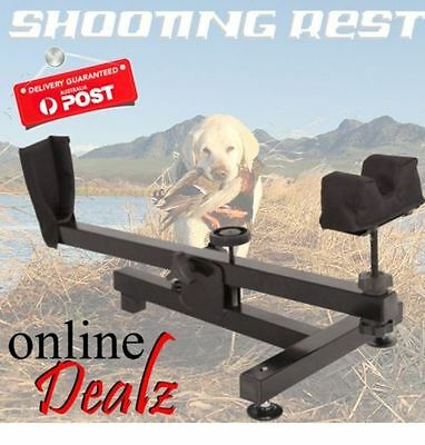 Steel Rifle Bench Rest - Benchrest - Hunting - Shooting - New