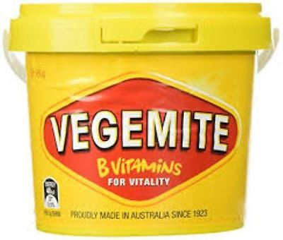950G VEGEMITE TUB - FOR A QUICK START IN THE MORNING Best Before May 2018