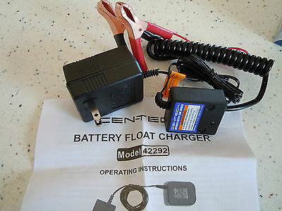 12 Volt Automatic Battery Maintainer / Float Charger Car Cycle Boat ATV Tractor