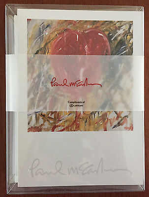 Paul McCartney Beatles Wings 2 Boxed Sets of 16 Note Cards from 2005 Tour