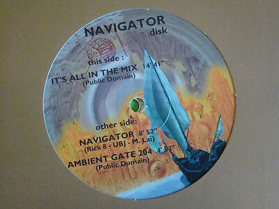 Navigator double LP Interactive Test Vinyl Compilation rare Franco Falsini Work