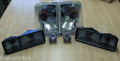 Land Rover Discovery 1 300Tdi & V8  Clear Indicator Light / Lamp Kit FK0024
