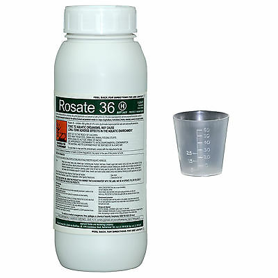 Rosate 36  Professional Glyphosate 1 litre with 60ml measuring cup worth £2.49!!