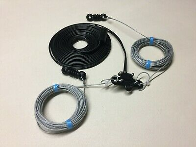G5RV 1/2 Size (51 Feet) Superior Poly Weave Wire Antenna / Aerial