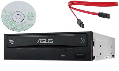 Asus Internal desktop SATA 24x DVD RW CD DL MDisc Burner Writer Drive + software