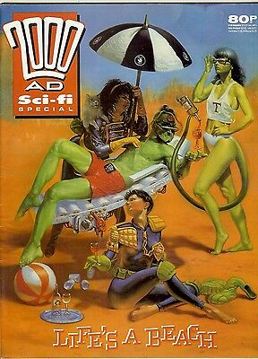2000 AD Special 1989: new work by Bellardinelli, Austin, Braithwaite...