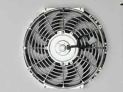 High Performance Chrome 12inch Thermo Fan Electric Fan 120watt DSM