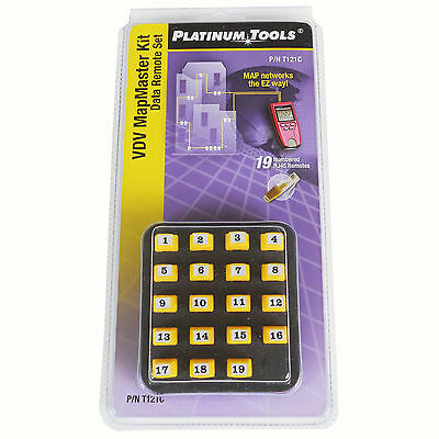 Platinum Tools Data Remotes for VDV Mapmaster 2.0 Network Tester