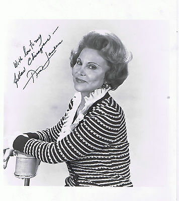Ann Landers Original Autographed Photograph With Love To My Fellow Chicagoans