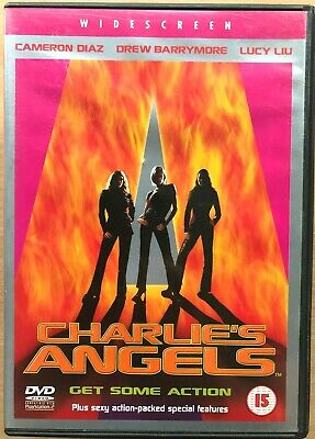 Cameron Diaz Drew Barrymore CHARLIE'S ANGELS ~ 2000 Feature Film Movie | UK DVD