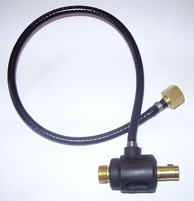 "LARGE (13mm) DINSE ADAPTOR for 3/8"" BSP CABLE"