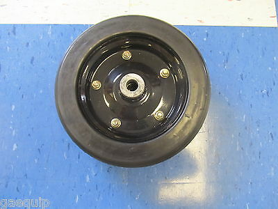 "REPLACEMENT FINISHING MOWER WHEEL- 10"" x 3.25"" W/ 3/4"" HOLE BUSHHOG 87750"