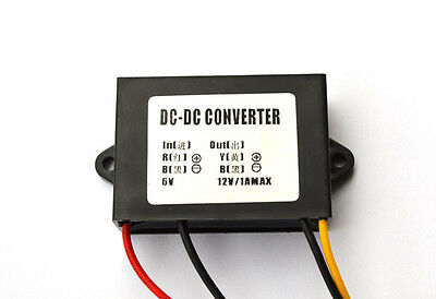 Industry Grade DC 6V To DC 12V 1A Step-Up Converter