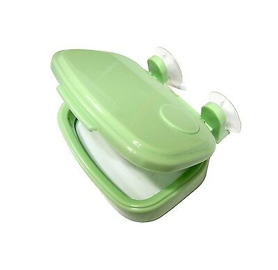 Green Food Waste Disposal Vinyl Bag Suction Cup Type Holder Deodorizing Effects