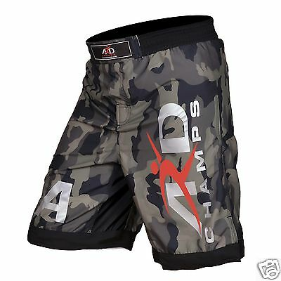 ARD CHAMPS™ Camo Pro MMA Fight Shorts Camouflage UFC Cage Fight Grappling